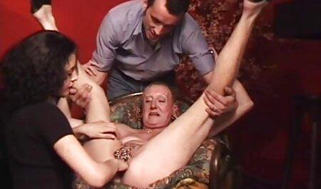 Die britische Schlampe Samantha hat die gratis online porno Arsch-Chaiselongue versaut